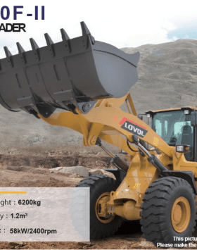 China Foton Lovol Small Size Wheel Loader FL920F-II