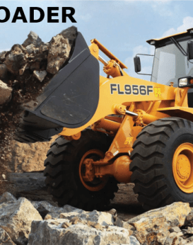 China Foton Lovol Wheel Loader FL956F-II