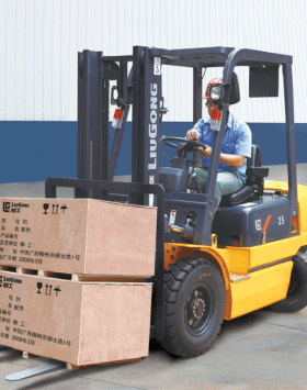 Liugong CPCD25 Diesel Pneumatic Tire Forklifts