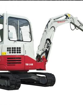 TAKEUCHI TB138FR Compact Excavator