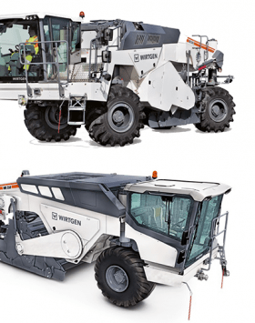 Wirtgen WR 240 Cold Recycler Machines and soil stabilizers