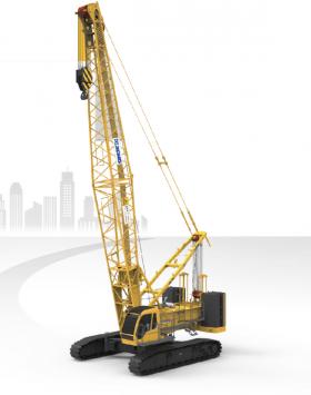 XCMG 100 ton Telescopic Crawler Crane XGC100T
