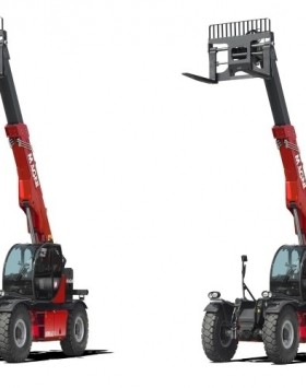 The HTH 16.10 telescopic handler