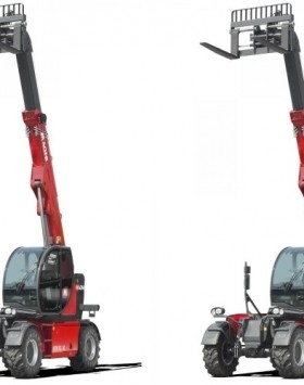 The HTH 10.10 telescopic handler