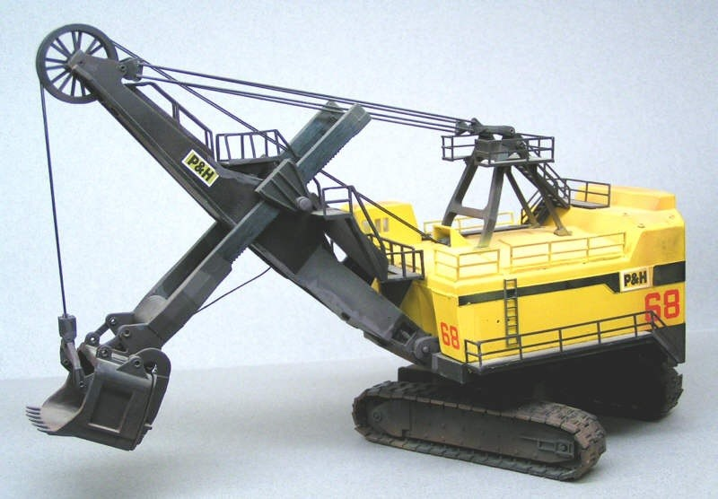 Power shovel